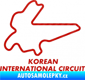 Samolepka Okruh Korean International Circuit