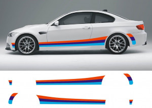 Polep na bok BMW 3 M Power - BMW 3 M Packet