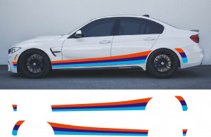 Polep na bok BMW 5 M Power - BMW 5 M Packet