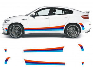 Polep na bok BMW X6 M Power - BMW X6 M Packet