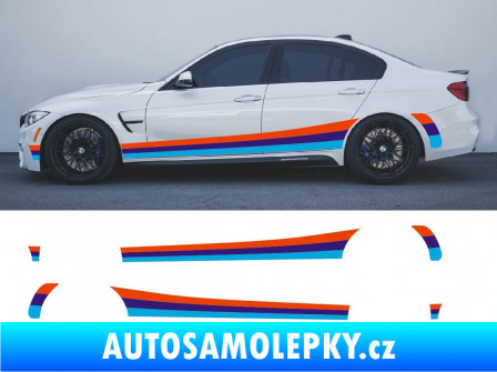 Samolepka Polep na bok BMW 5 M Power - BMW 5 M Packet